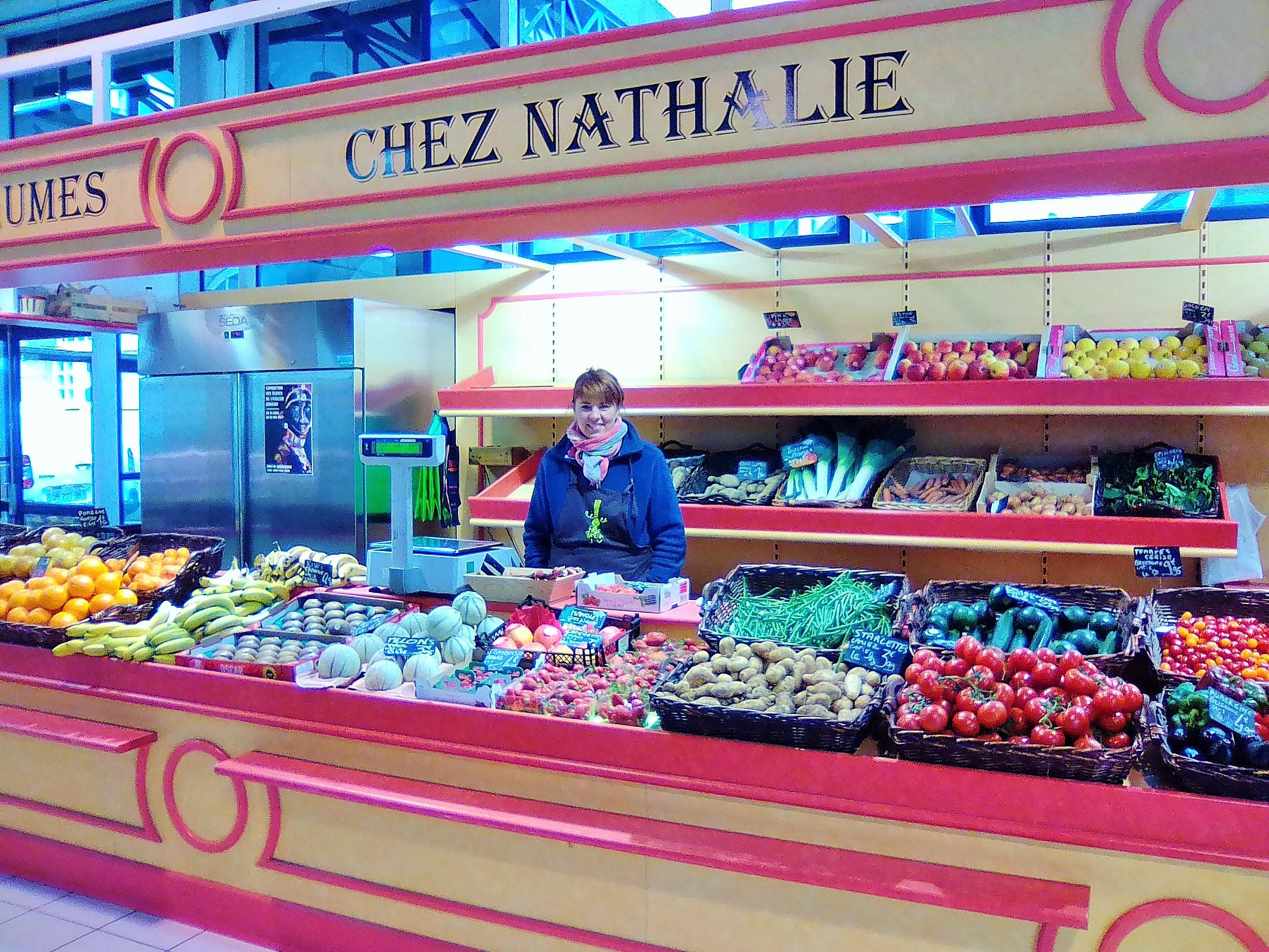 Chez Nathalie fruits et légumes aux Halles